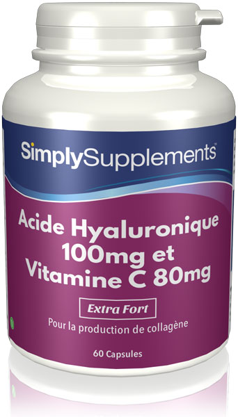 Acide Hyaluronique 100mg et Vitamine C 80mg