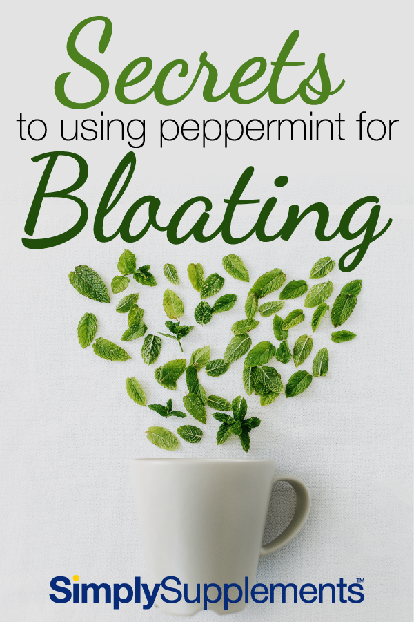 How to use peppermint for bloating and relieve gas and stomach pains with ease. An all-natural and easy natural remedy proven over the years for it's effectiveness.