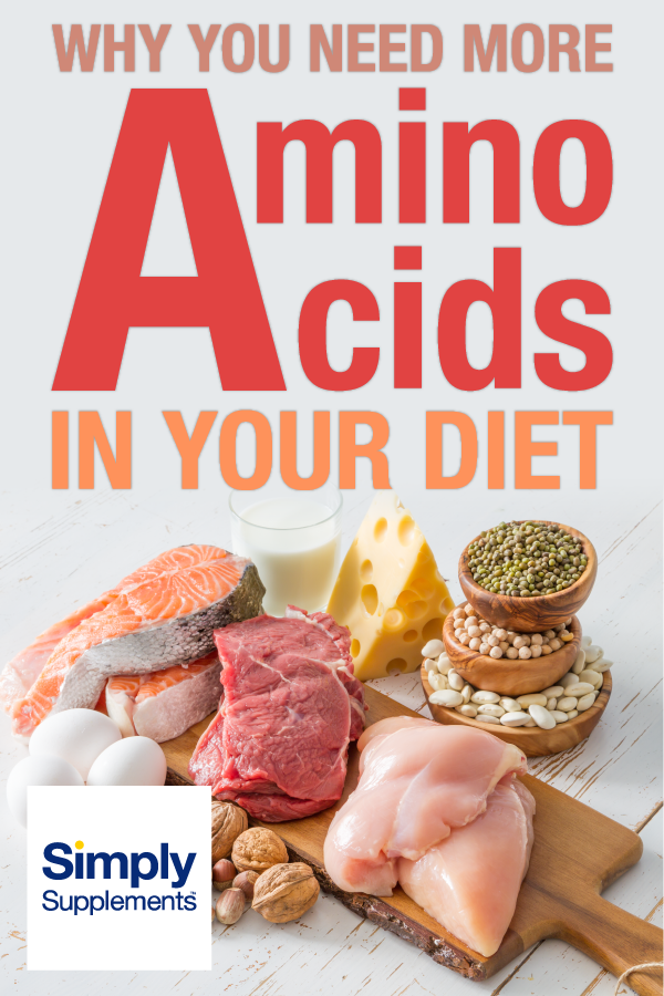 What amino acids are essential for your health, and what food should you eating to get them? Article also examines amino acid supplements to see whether they will help.