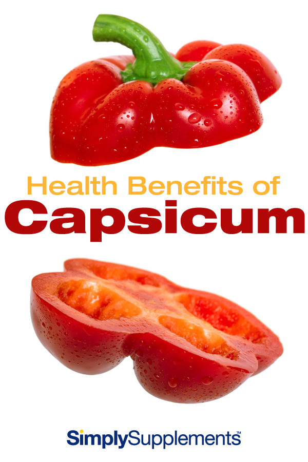 What are the health benefits of capsicum? Find out how peppers in your diet can support a range of conditions and may even help with weight loss if rumours are believed.